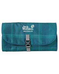 Jack Wolfskin Waschsalon Travel / Wash Bag - Caribbean Blue Glencheck