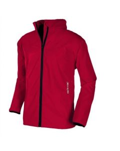 Target Dry Mac In a Sac Kids Jacket - Red Waterproof Breathable Windproof Hood
