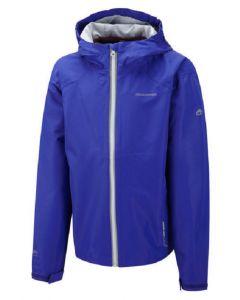 Craghoppers Kids Liliya Girls Waterproof Jacket Collar Hood &Pockets Deep Indigo