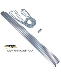 Vango Alloy Tent Pole Repair Set Kit 9.5mm x 55cm