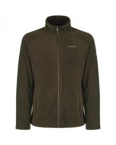 Craghoppers Kiwi Interactive (Zip In) Full Zip Fleece Jacket Evergreen