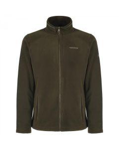 Craghoppers Kiwi Interactive (Zip In) Full Zip Fleece Jacket Evergreen