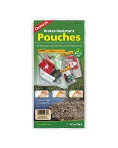 Coghlans Waterproof Pouches Three Piece Set