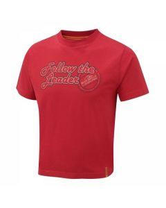Craghoppers Bear Grylls Kids Follow The Leader T-Shirt Red