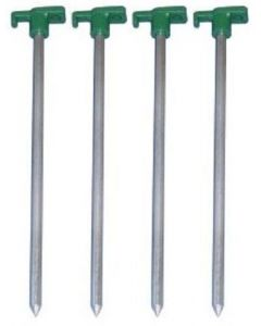 Strider Groundhog Rock 25cm  Steel Tent Pegs 4 pack