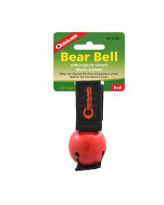 Coghlans Red Magnetic Bear Bell