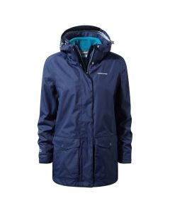 Craghoppers Madigan III 3 in 1 Ladies Waterproof Jacket Inc. Fleece