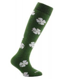 Horizon Kids Welly Socks - Four Leaf Green