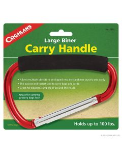 Coghlans Large Biner Carry Handle Metallic Red