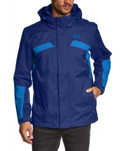 Jack Wolfskin Topaz Mens Jacket Night Sky Blue