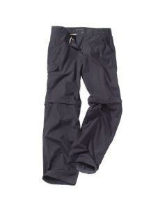 Craghoppers Womens Kiwi Zip Off Convertable Walking Trousers Dark Navy