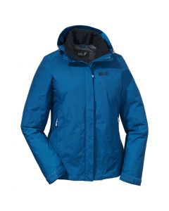 Jack Wolfskin Womens Mountana Jacket Blue