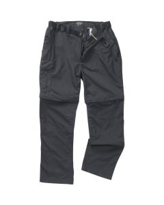 Craghoppers Kiwi Convertable Zip off Trousers Black Pepper