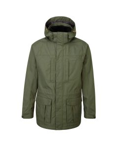 Craghoppers Kiwi Long Jacket Parka Green