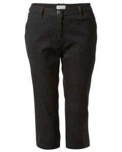 Craghoppers Kiwi Pro Stretch Ladies Crop Trousers Size 16