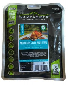 Wayfayrer Expedition Food Ready to Eat Meal - Moroccan Style Bean Stew