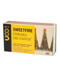 UCO Sweetfire Strikeable Fire Starter x20