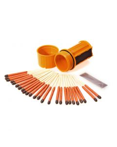 UCO Survival Stormproof Match Kit Orange Case