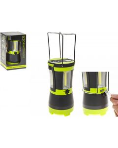 Summit Stormforce Rechargable Cob Lantern & 2 Detachable Torches