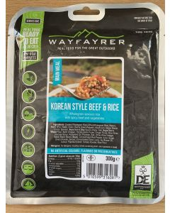 Wayfayrer Expedition Food Ready to Eat Meal - Korean Style Beef & Rice