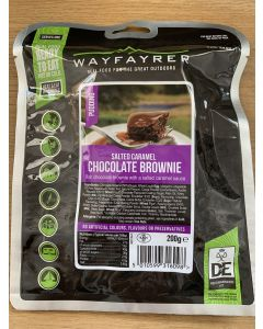 Wayfayrer Expedition Food Ready to Eat Meal - Salted Caramel Chocolate Brownie